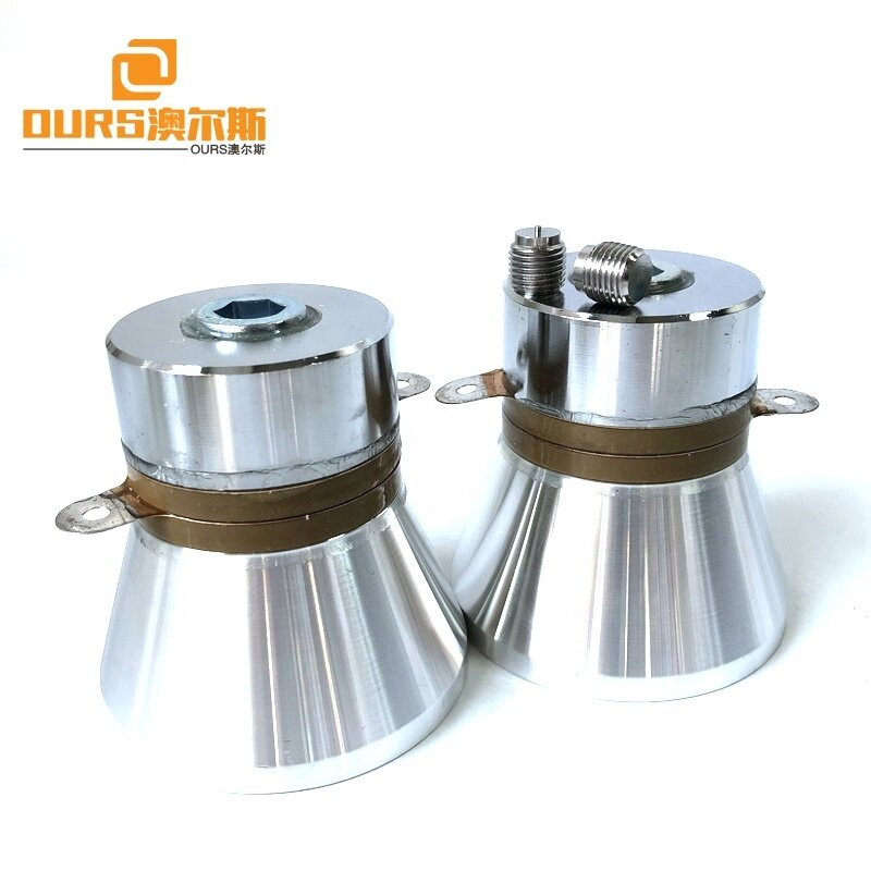 100W High Power Auto Parts Cleaner Ultrasonic Cleaning Transducer/Radiator 28K For Ultrasound  Industry Cleaner Tank