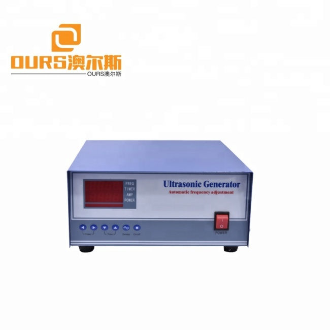 Manufacturer of Ultrasonic Cleaning Generator &PCB Circuit for Ultrasonic Cleaning Transducer 20KHZ To 200KHZ Optional with PLC