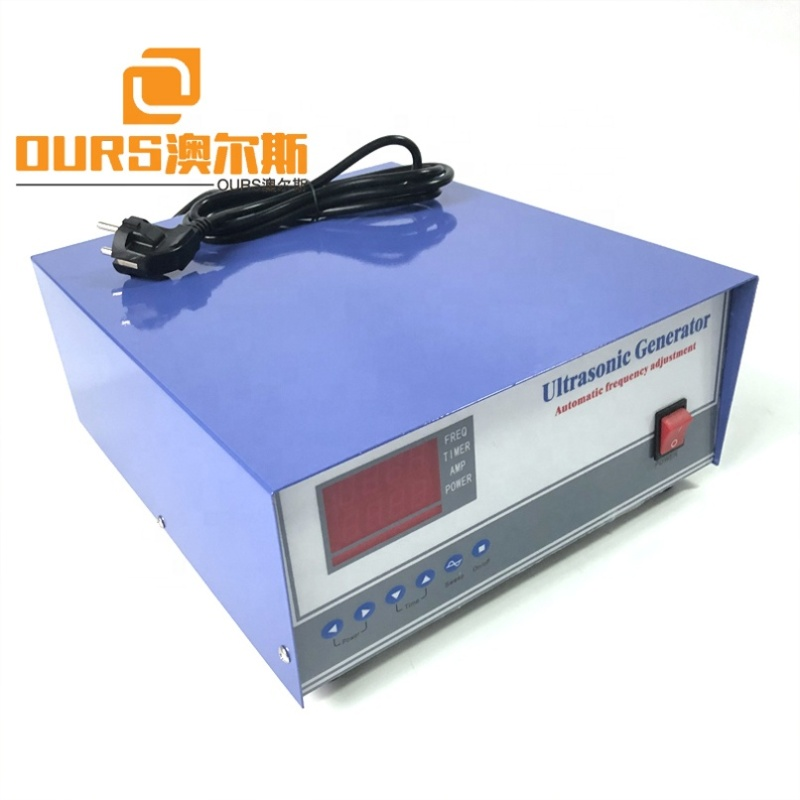 1500W Powerful Cleaning Ultrasonic Transducer Signal Generator 40K Cleaner Transducer Bath Driving Generator With Digital Panel