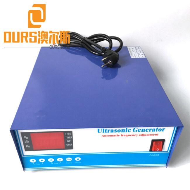 RS485 Network 12000W/20-40KHZ digital high power ultrasonic Generator and long life