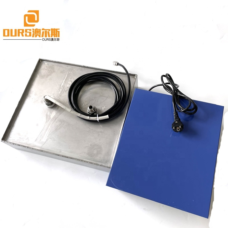 25KHZ Customized Size Stainless Steel Submersible Ultrasonic Transducer Vibration Plate As Immersible Industrial Cleaner Box