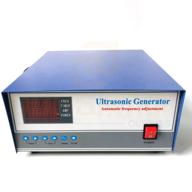 High Frequency 70K 1000W Industrial Cleaning Goods And Services Ultrasonic Cleaner Power Generator Cleaning Power Supply With CE
