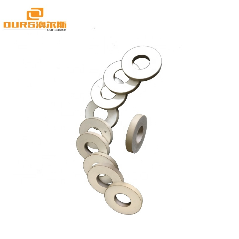 30X3  Industrial Cleaning Ceramic Transducer Piezoelectric Ultrasonic Transducer Cleaner Piezo Ultrasonic Vibration Sensor