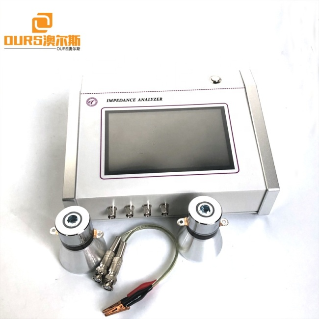 Transducer Characteristic Analyzer Digital Ultrasonic Impedance Analyzer  Frequency Range 1KHZ-5MHZ