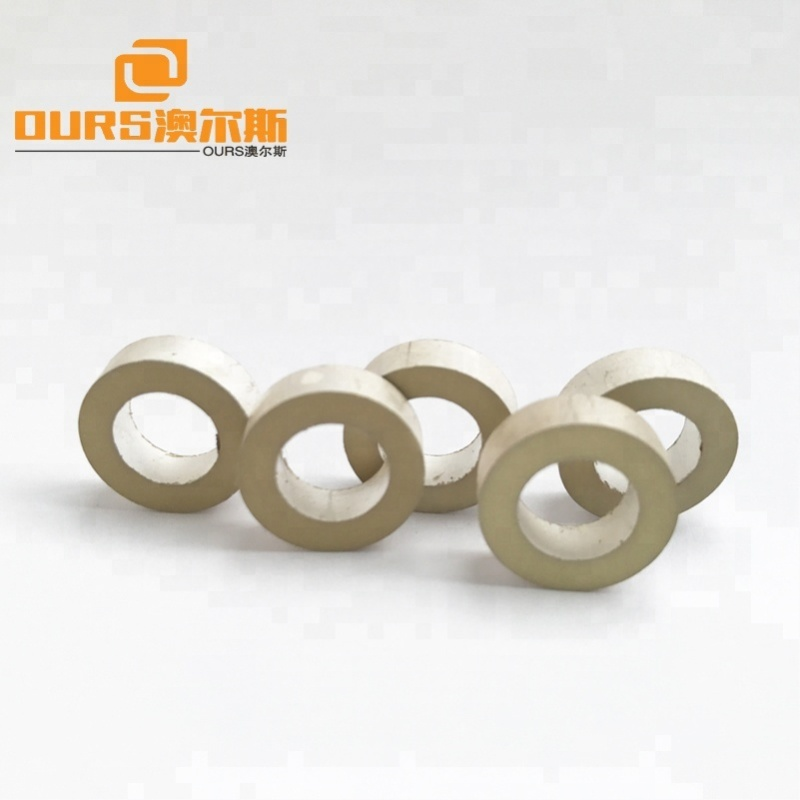 Piezoelectric Material  26*22*25mm Tube Piezoelectric Ceramic, UltrasonicTransducer Raw Material Type