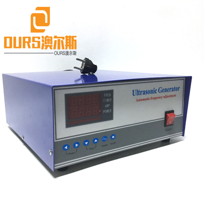 17KHZ 1000W 110V or 220V High Performance Ultrasonic Cleaning Generator For Cleaning Transducer