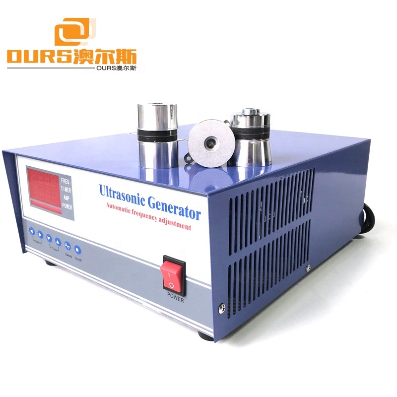 900W Ultrasonic Generator Frequency And Power Adjusting 20/28/33/40KHz For Ultrasonic Cleaner Parts