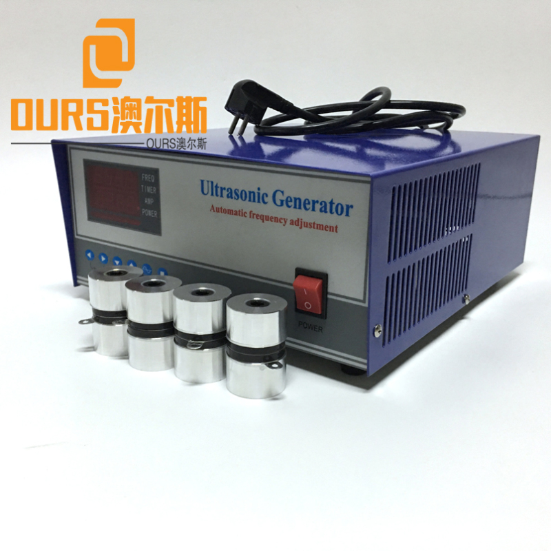 20KHZ/25KHZ/28KHZ/40KHZ 600W Ultrasonic Vibration Power For Ultrasonic Cleaning Parts