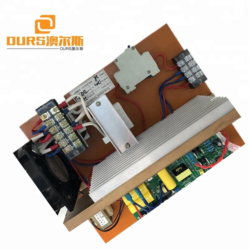 600w Ultrasonic cleaning transducer and ultrasonic driver PCB generator