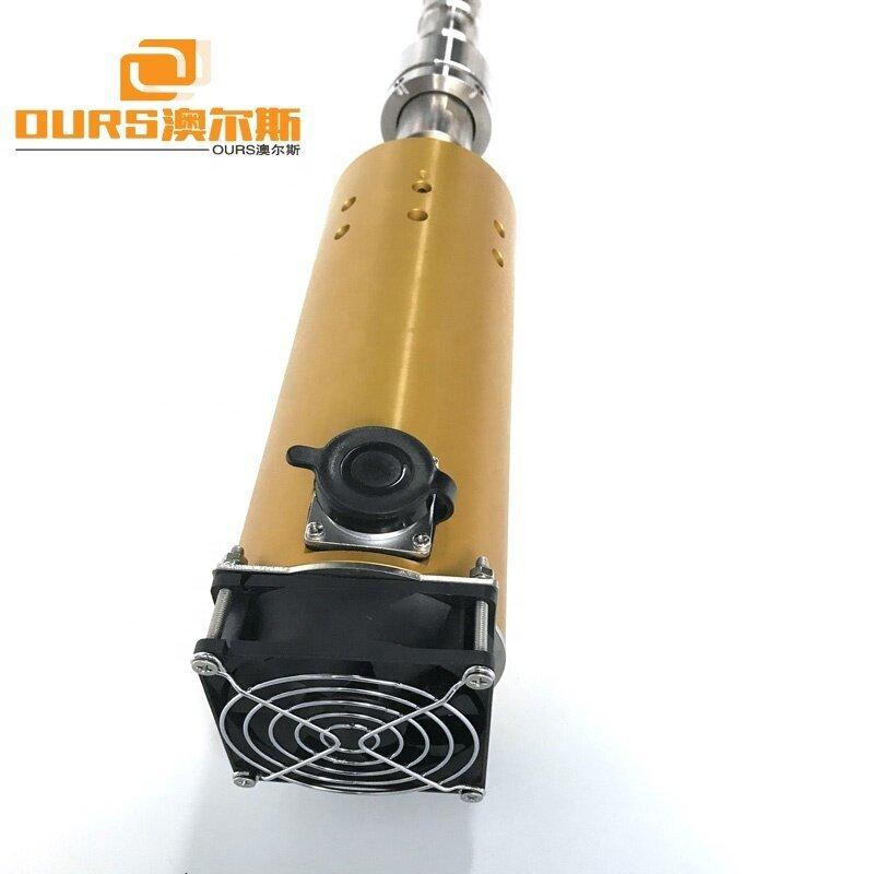 1000W Titanium Alloy Tubular Ultrasound Transducer,20KHz Ultrasonic Tuber Reactor