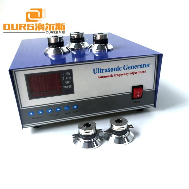 20KHz/28KHz/33KHz/40KHz ultrasonic sound vibration generator For Cleaning Precision Parts