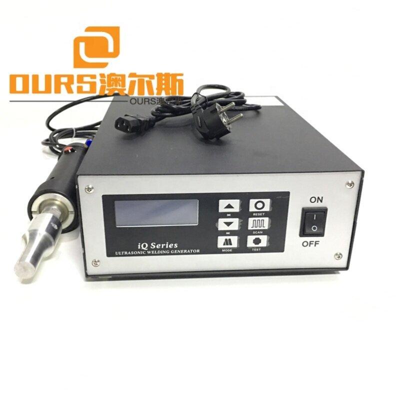 28K 500W/800W Ultrasonic N95 Medical Mask Ear Band Welding Machine Ultrasonic Practical Cap Mask Cover Spot Welder