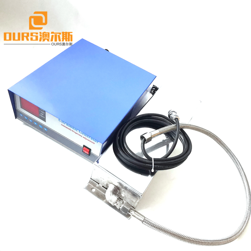 300w 28khz or 40khz Ultrasonic ImmersibleTransducer Plate And Generator for  Flow Meter Housing Cleaning