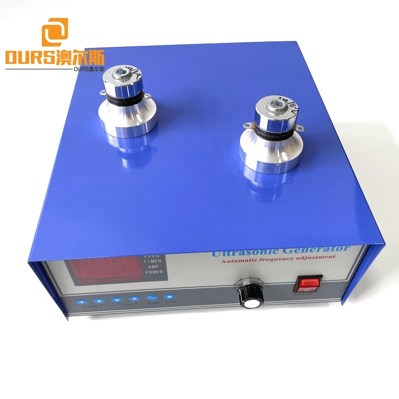 300W 600W 110V 220V Voltage Digital Ultrasonic Sonicator Generator With CE For Korean Vegetable Fruits Tableware Cleaner System