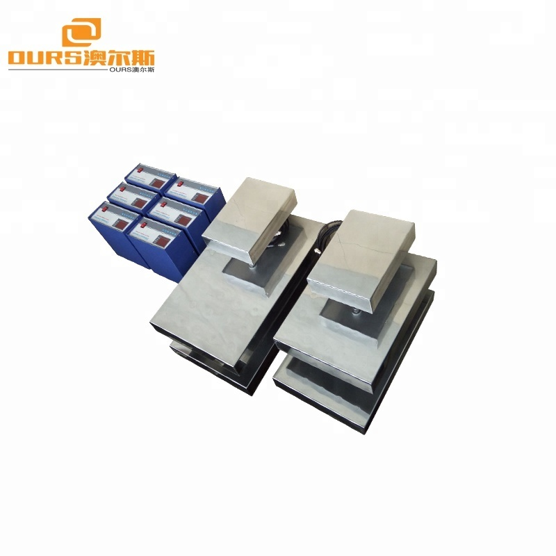 1000W Customized Different Size Ultrasonic Transducer Immersible with Stainless Steel head