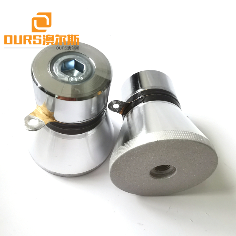 28khz 60w pzt4 Ultrasonic Sensor For Textile Printing and Dyeing Industry Cleaning