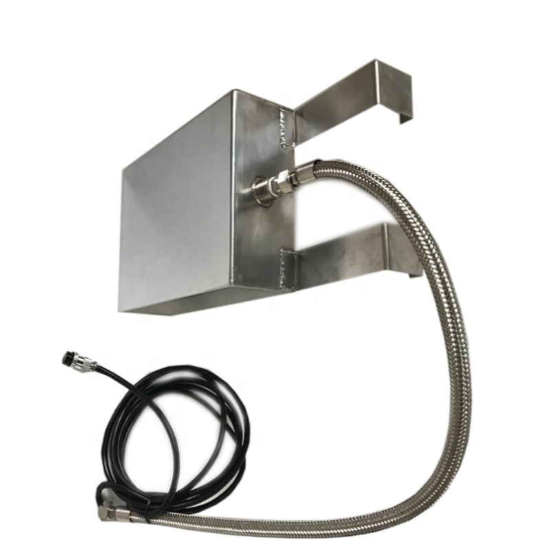 120KHz Immersible Waterproof Ultrasonic Vibration Sensor Transducer With Stainless Steel Plate