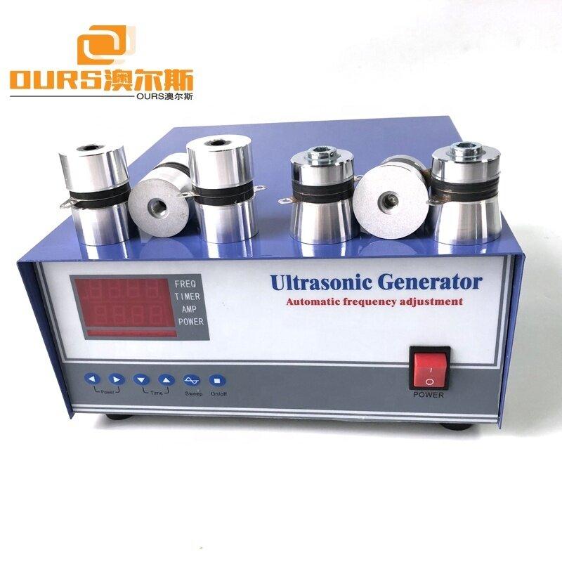 1200W 20K/28K/33K/40K Ultrasonic Cleaning Generator,Power Adjustable Ultrasonic Wave Generator For Parts Industrial Cleaner