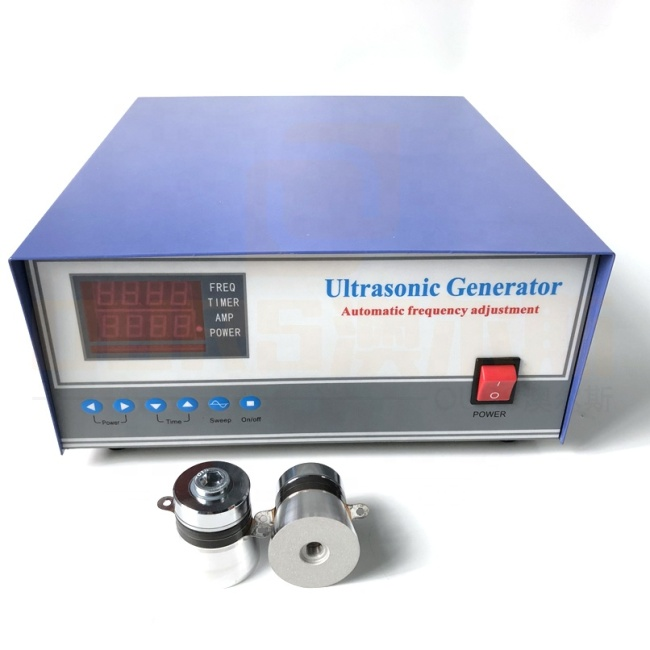 Vibration Single Frequency  Wave Cleaner Driver 40K Industrial Ultrasound Cleaning Generator For Auto Parts Cleaner 300W