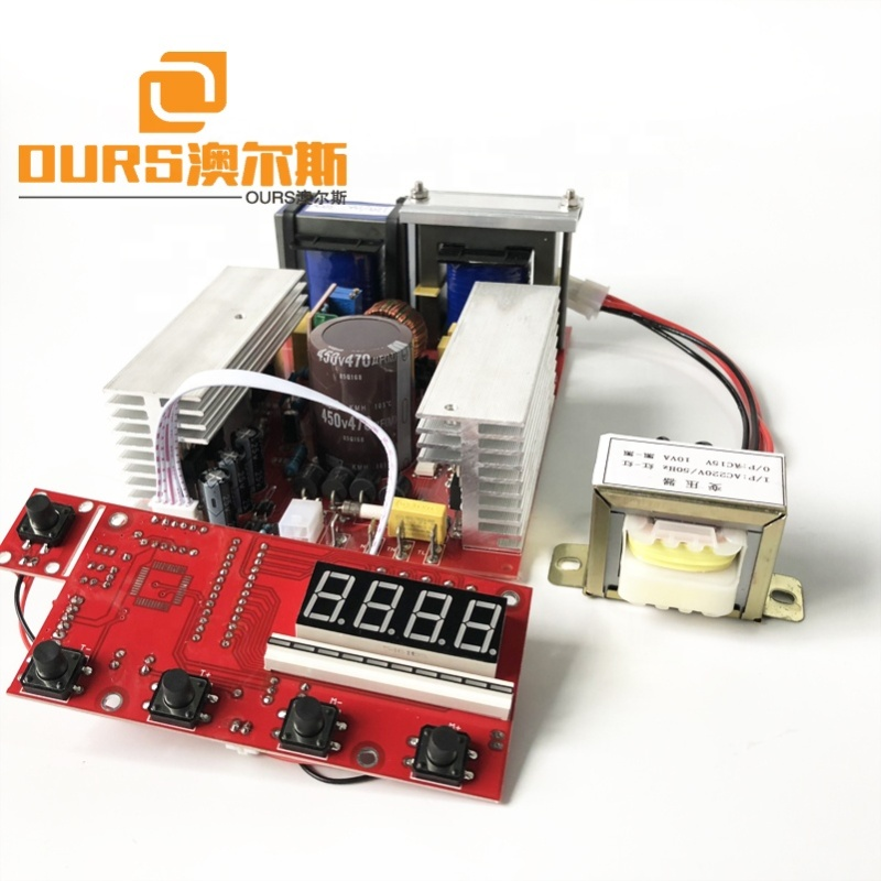 600W Ultrasonic Cleaning Pcb Ultrasonic Generator Circuit Schematic For Driving Transducer
