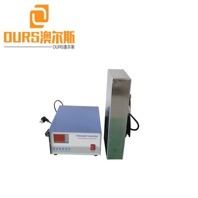 28KHZ 600W Ultrasonic Transducer Stainless Steel Movable For Cleaning Ship Parts