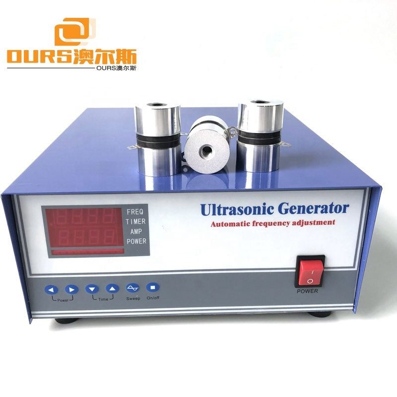 2019 40KHz Digital Ultrasonic Cleaning Generator With Auto Frequency Tracking And Degassing