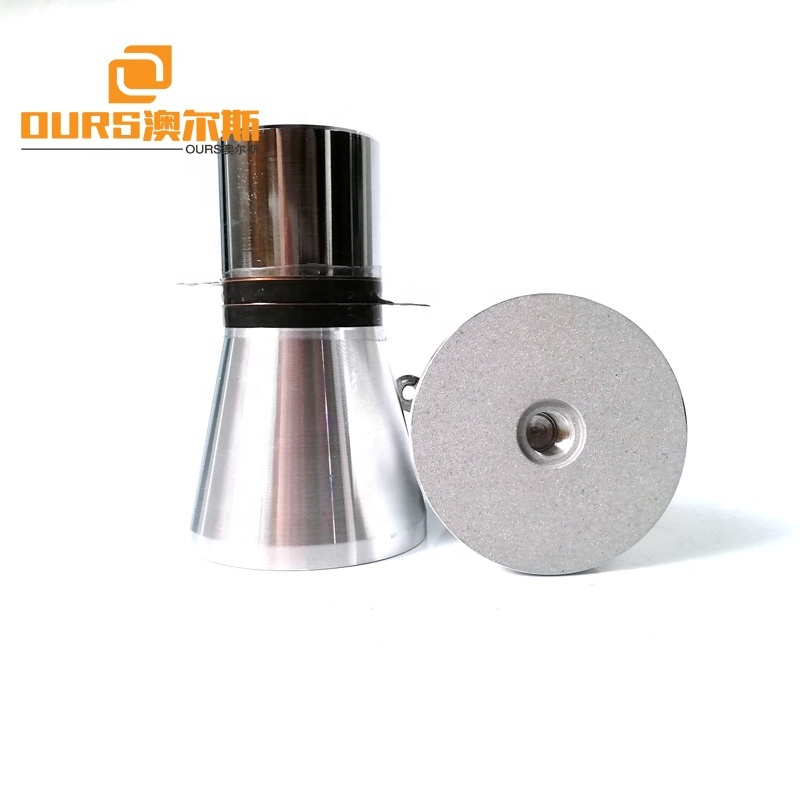 20KHz Low Frequency Piezoelectric Ultrasonic Transducer 50W Ultrasonic Transducer For Cleaning