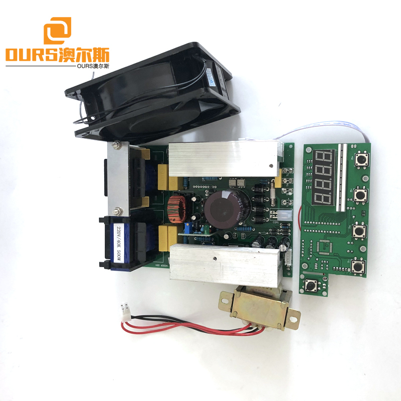 Adjustable Power And Time 28KHZ 100W-600W Ultrasonic Generator PCB Board For Building Vegetable Jewelry Cleaning Machine