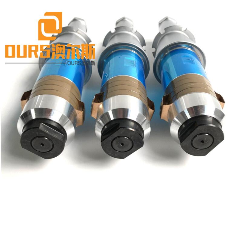 15khz  2200W Ultrasonic Welding Transducer For Welding ABS,PP,PE etc organic plastics