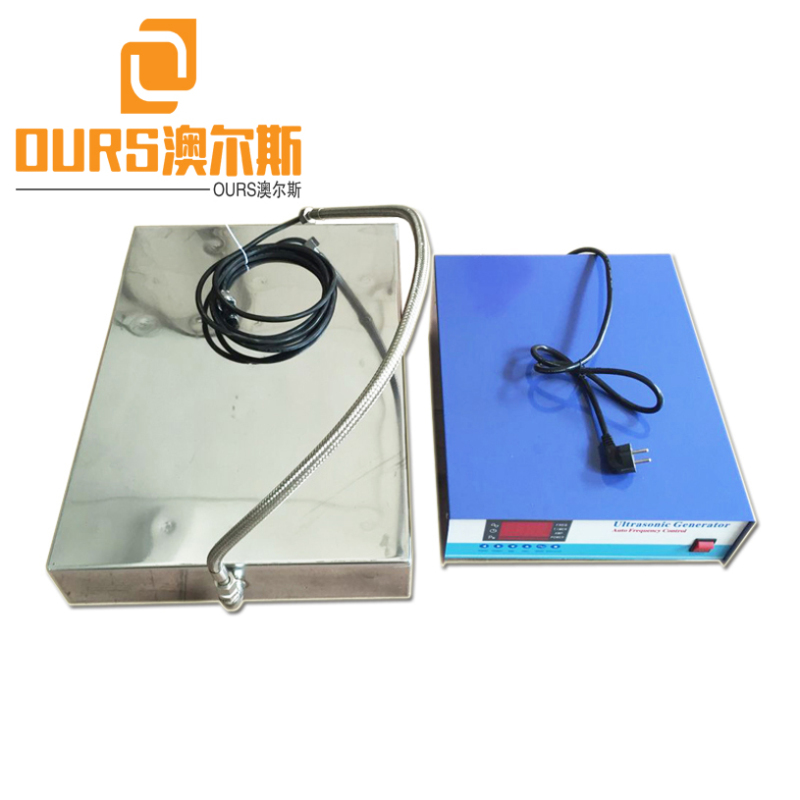 High frequency Titanium Alloy Immersible Ultrasonic Vibrators Pack For Cleaning Plumbing Parts