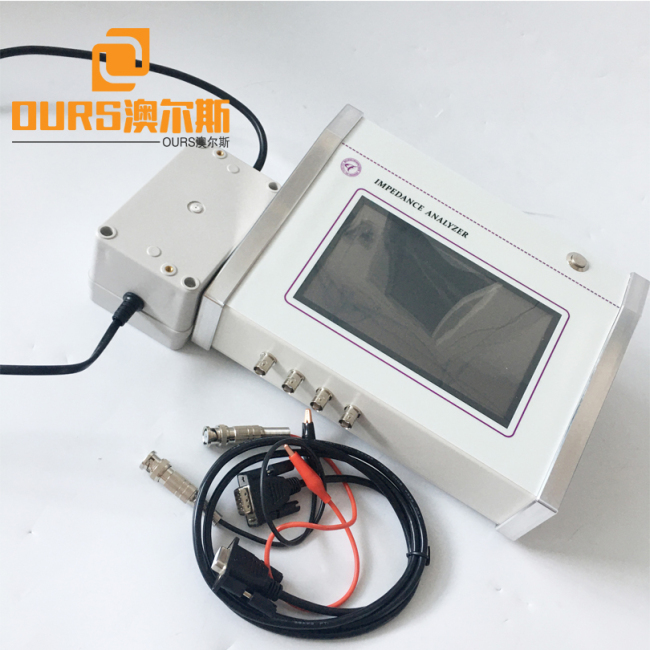 1KHz-5MHz Full Touch Screen Ultrasonic Impedance Analyzer for sonotrode tuning and transducer testing