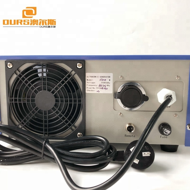 64khz/75khz 1100W dual frequency ultrasonic generator with digital display for ultrasonic washing machine
