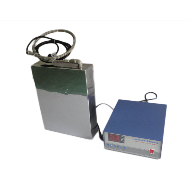 28KHz/40KHz Waterproof Ultrasonic Transducer Stainless Steel 316L Vibration Plate 1800W Ultrasonic Immersible Transducer Pack