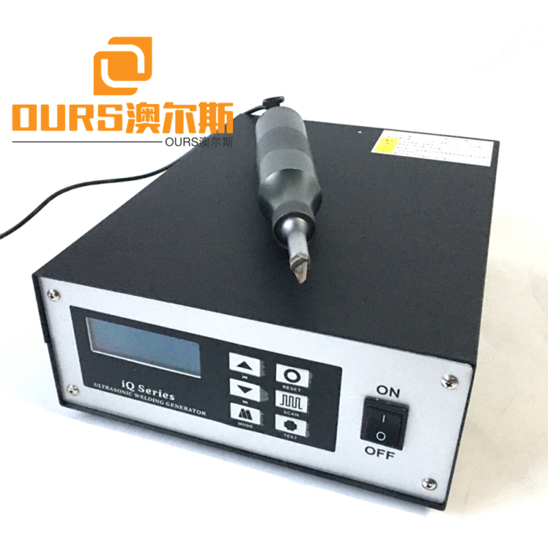 500W 35khz Ultrasonic cutting knife for cloth plastic include generator and  transducer and horn and Ultrasonic cutting knife