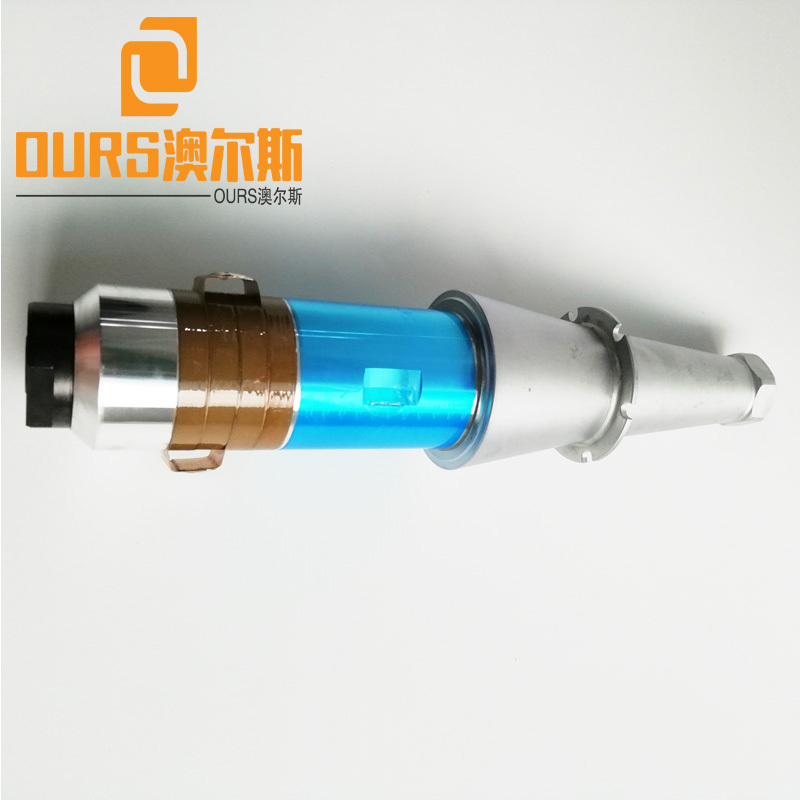 15khz  2200W  High Power Ultrasonic Welding Transducer For Ultrasonic Welding Gun