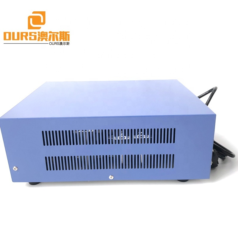 28K 2800W High Power Ultrasonic Industry Cleaning Generator With Power And Time Controller For Auto Parts Cleaning