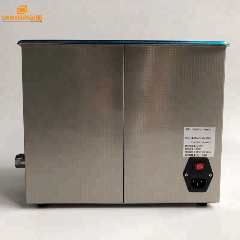 10L ultrasonic transducer mounting for ultrasonic cleaning machine