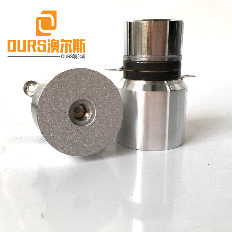 28KHZ 50W PZT4 Cylindrical Type Ultrasonic Converter For Korea Cleaning Plate