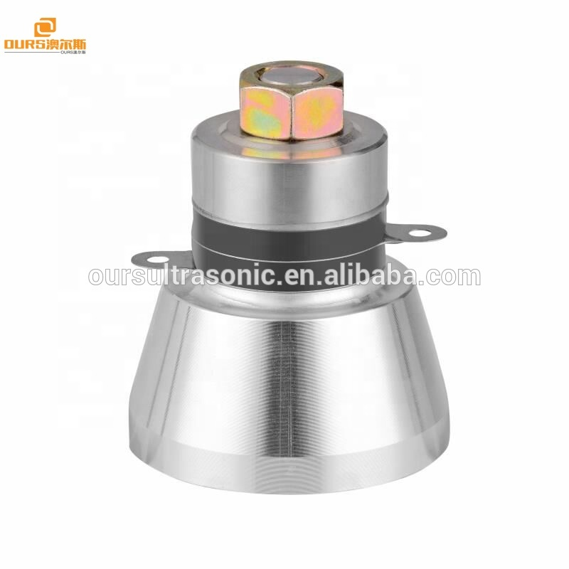 28K50W ultrasonic transducer for Cleaning seafood, fruit, vegetables Remove Pesticide residues and toxic substances