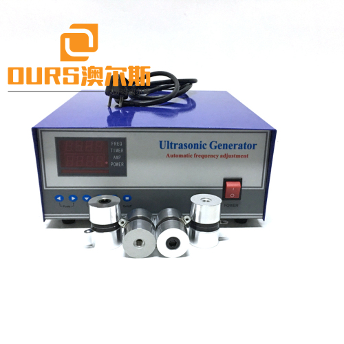 20-40khz Frequency 2400w power Ultrasonic Vibration Generator to Drive Cleaning Transducer