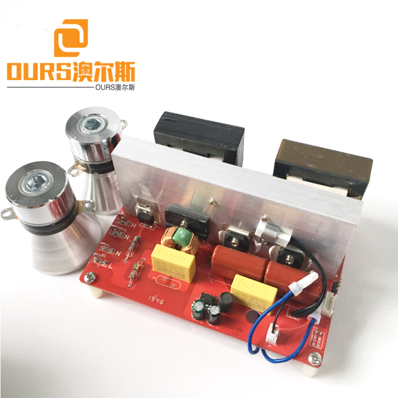 130KHZ 200W 110V Or 220V Ultrasonic Transducer Equivalent Circuit For Cleaning Ophthalmic Eyepiece