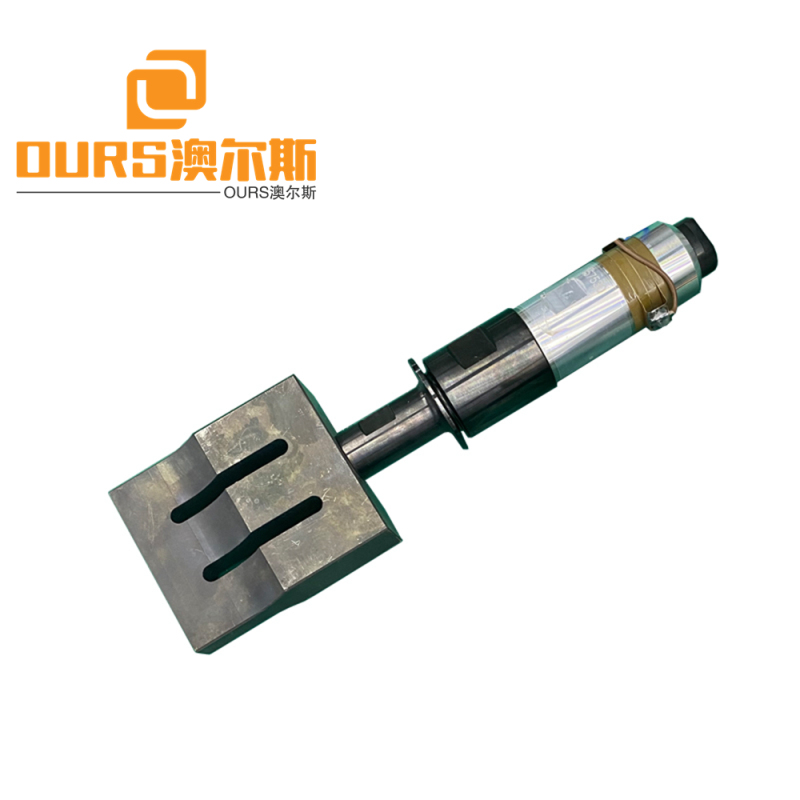 20khz or 15khz  Ultrasonic welding Generator with transducer and  Booster Horn for 3 Ply   Face Mask