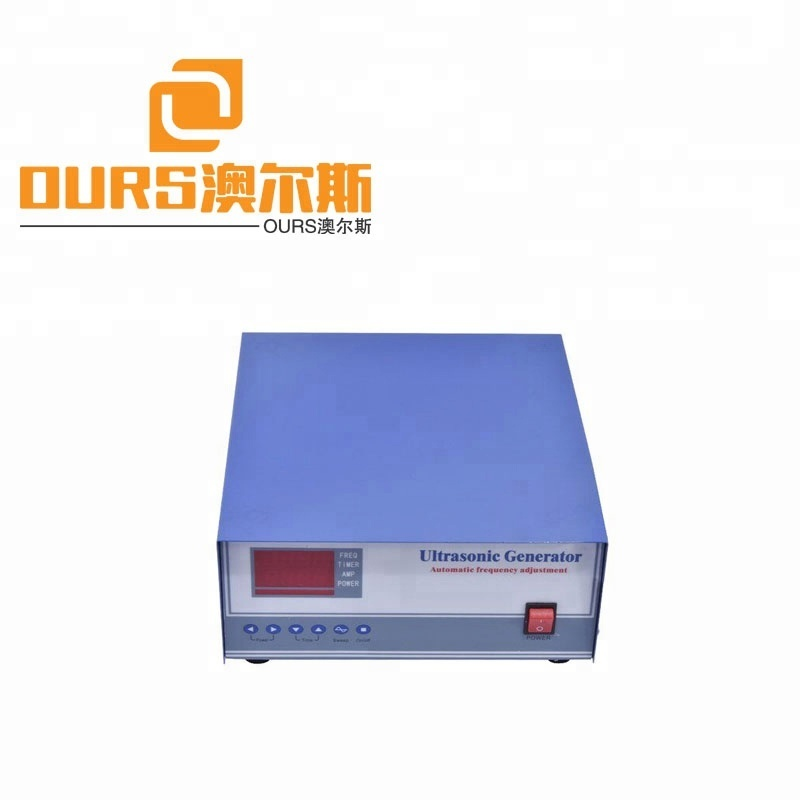 2400w low Price Variable Frequency Ultrasonic Generator Ultrasound Generator for cleaning