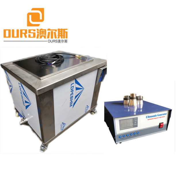 8000W 25KHZ/28KHZ/40KHZ Industrial uUltrasonic Cleaning Tanks For Cleaning Compressor