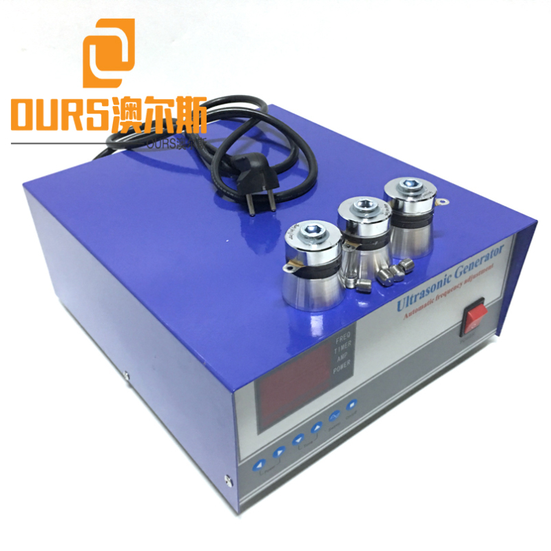 28KHZ  300W-3000W 110V or 220V Ultrasonic Transducer Generator Adjustable  Frequency For Cleaning Dishwasher