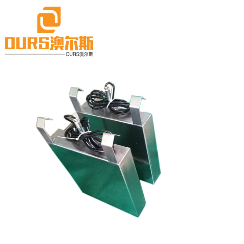 50KHZ High Frequency 1200W 110V Or 220V Immersible Ultrasonic Transducer Board For Cleaning Glass