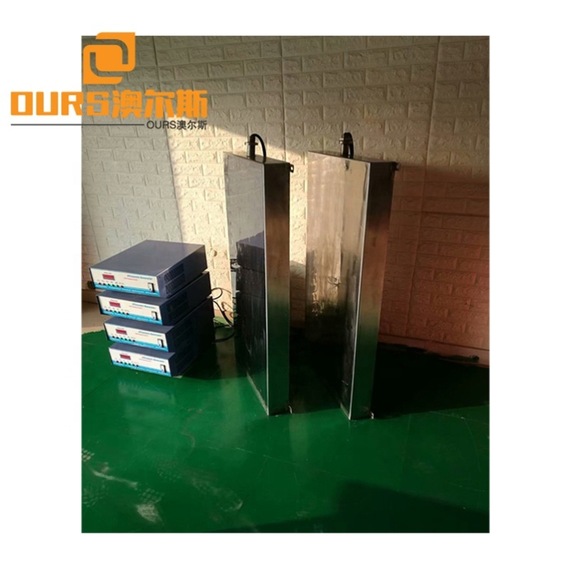 28K-40K 600W Digital Ultrasonic Generator Control Immersible Ultrasonic Transducer Pack For Dies Ultrasonic Cleaning