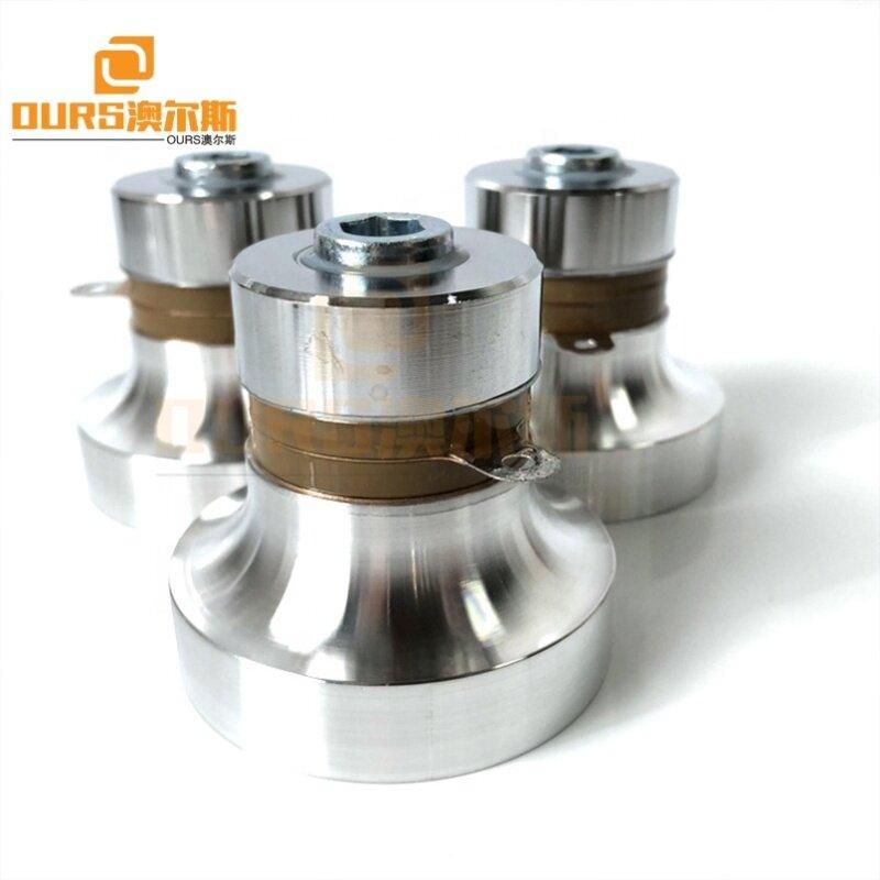 Piezoelctric Ceramic Vibration Power 60W Ultrasonic Transducer Waterproof Immersible Pack Ultrasonic Converter Parts