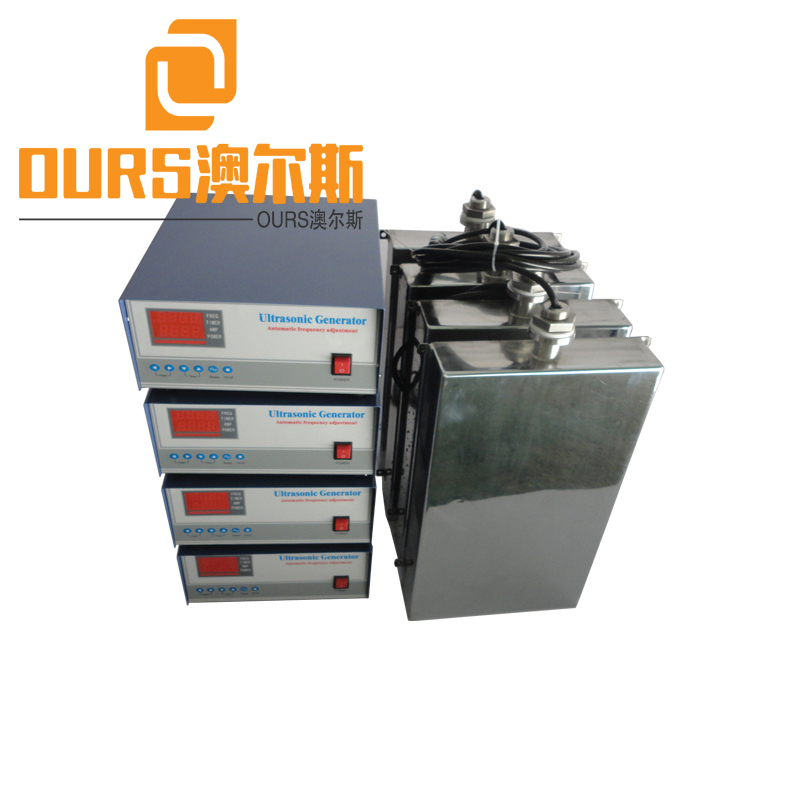25KHZ/28KHZ/40KHZ 5000W Electroplating Stainless Steel 316L Submersible Ultrasonic Transducer