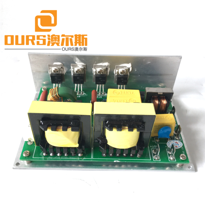 High Efficient 28KHZ 120W Ultrasonic Frequency Generator Circuit For Cleaning Jewelry